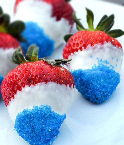 redwhiteblueStrawberries